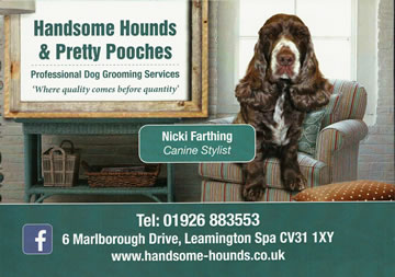 Handsome Hounds & Pretty Pooches - Professional Dog Grooming Services in Leamington Spa